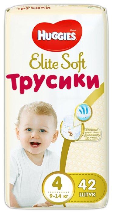 04f8482fb7fb Купить Huggies Elite Soft трусики 4 (9-14 кг) 42 шт. в Минске с ...
