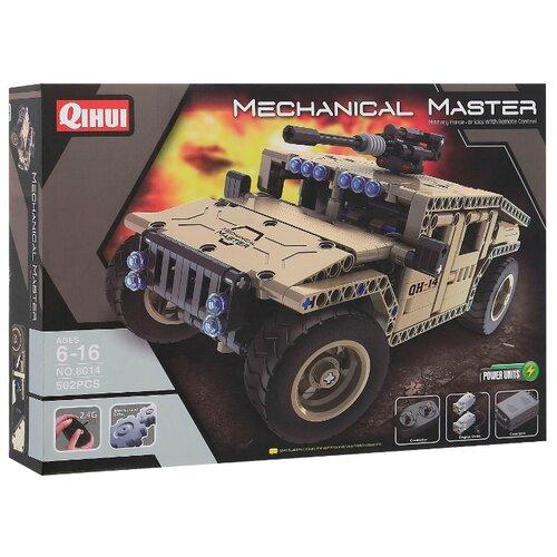Купить Электромеханический конструктор QiHui Mechanical Master 8014 Бронированный внедорожник, Конструкторы