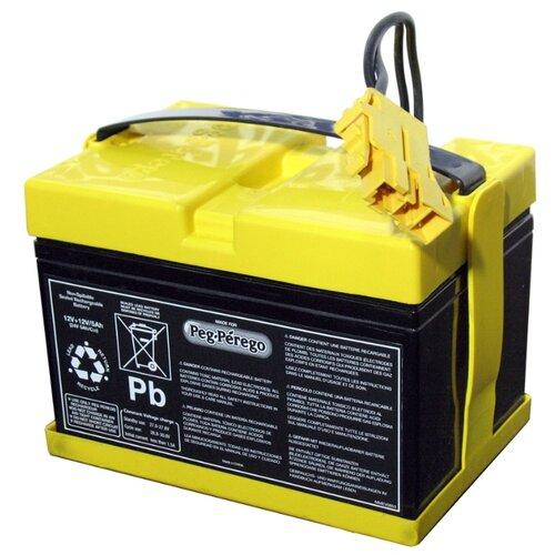 цена на Peg-Perego Аккумулятор для электромобилей 24V 5Ah желтый/черный