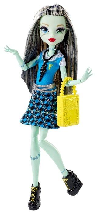 Кукла Monster High Первый день в школе Фрэнки Штейн, 29 см, DNW99