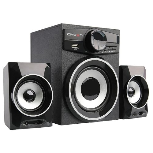 цена на Компьютерная акустика CROWN MICRO CMBS-160 черный