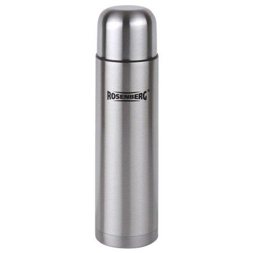 Классический термос ROSENBERG RSS-420011-XL, 1 л серебристый