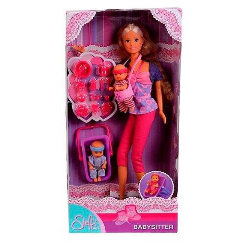 Фото - Набор кукол Steffi Love Штеффи с детьми, 29 см, 5730211 набор кукол steffi love штеффи с новорожденным 29 см 5730861