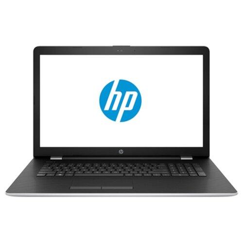 Ноутбук HP 17-bs016ur (Intel Core i7 7500U 2700 MHz/17.3/1600x900/8Gb/1000Gb HDD/DVD-RW/AMD Radeon 520/Wi-Fi/Bluetooth/Windows 10 Home) серебристый/пепельно-серебристыйНоутбуки<br>