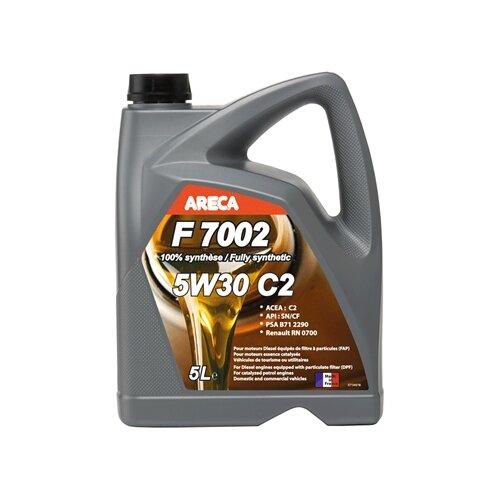 Синтетическое моторное масло Areca F7002 5W30 5 л