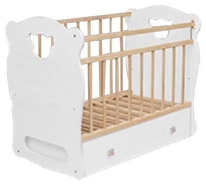 Кроватка Волжская деревообрабатывающая компания Orso (классическая), поперечный маятник
