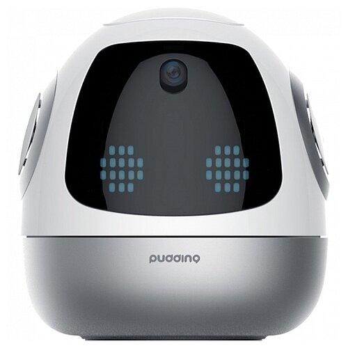 Купить Интерактивная игрушка робот ROOBO Pudding S (Емеля) белый/серый, Роботы и трансформеры