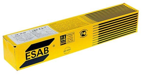 Электроды для ручной дуговой сварки ESAB OK 46.00 3мм 5.3кг — купить и выбрать из более, чем 10 предложений по выгодной цене на Яндекс.Маркете