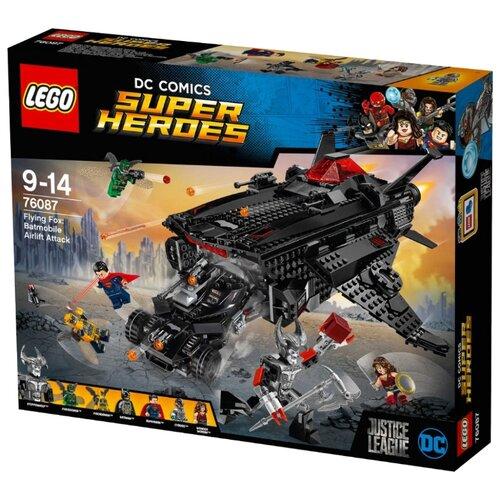 Конструктор LEGO DC Super Heroes 76087 Нападение с воздуха lego нападение на планетуэндор разноцветный