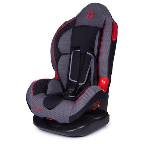 Автокресло группа 1/2 (9-25 кг) Baby Care Polaris, black/grey 1008 автокресло группа 1 2 3 9 36 кг little car ally с перфорацией черный