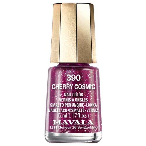 Купить Лак Mavala Nail Color Glitter, 5 мл, оттенок 390 Cherry Cosmic