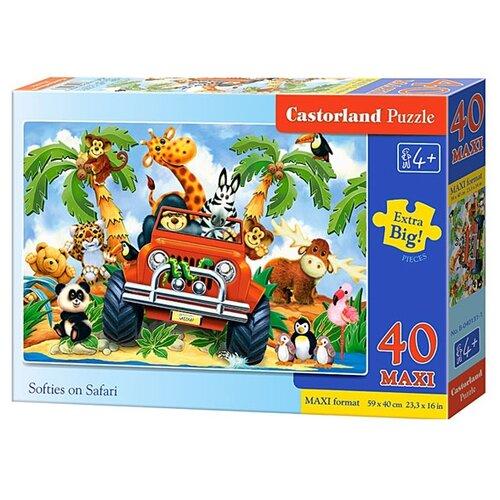 Купить Пазл Castorland Softies on Safari (B-040131), 40 дет., Пазлы