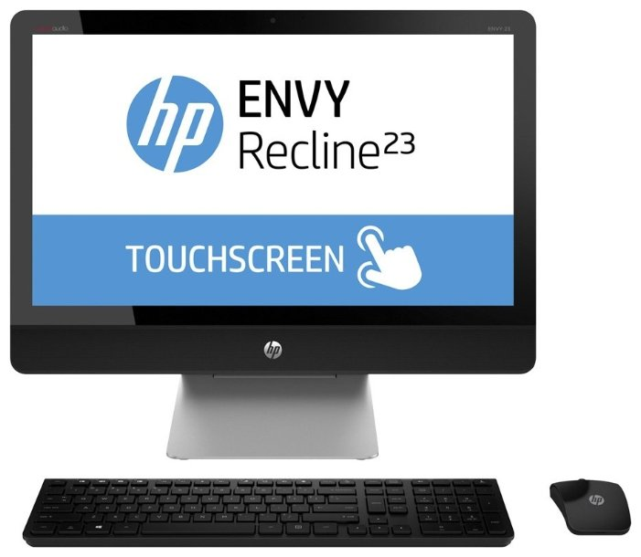 Моноблок 23`` HP TouchSmart Envy Recline 23-k020er (D7U18EA)
