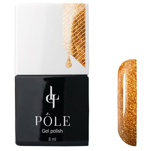 Купить Гель-лак для ногтей Pole Classic line, 8 мл, золотой мак