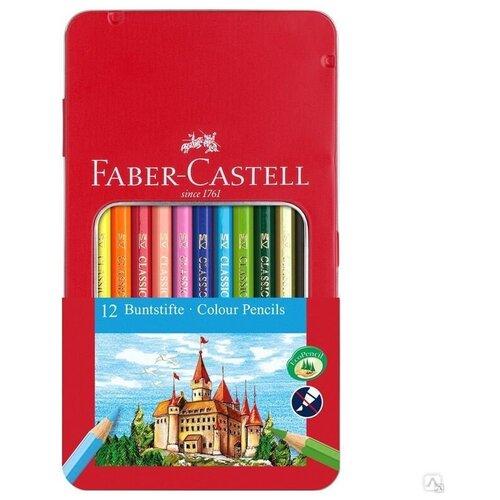 Faber-Castell Карандаши цветные, 12 цветов (115801)