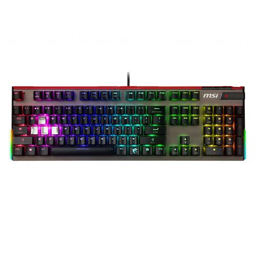 Игровая клавиатура MSI Vigor GK80 RED Cherry MX Red