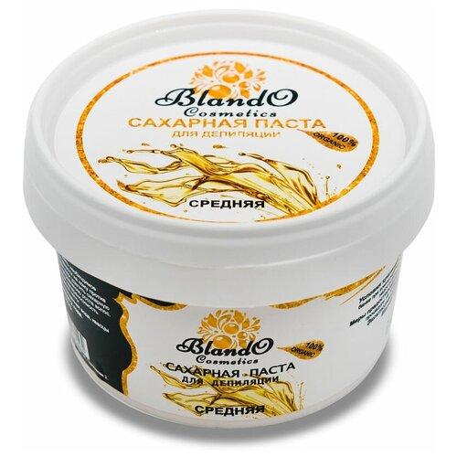 Купить Blando Cosmetics Сахарная паста для шугаринга (депиляции) средняя 350гр