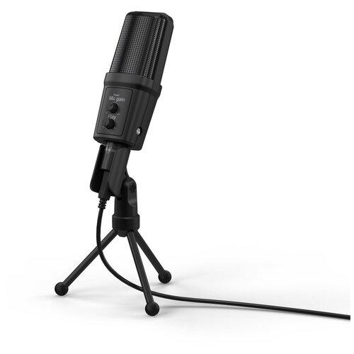 Микрофон проводной Hama Stream 700 HD 2.5м черный