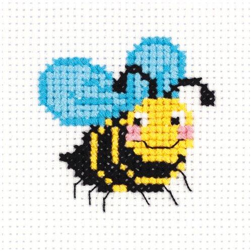 Набор для вышивания KLART Пчелка 8.5x9 см