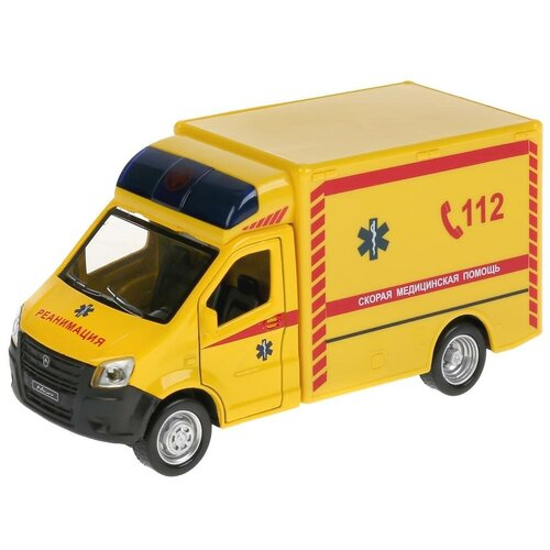 Фургон ТЕХНОПАРК Газель Next Реанимация (NEXTREAN-15SL-YE), 15 см, желтый
