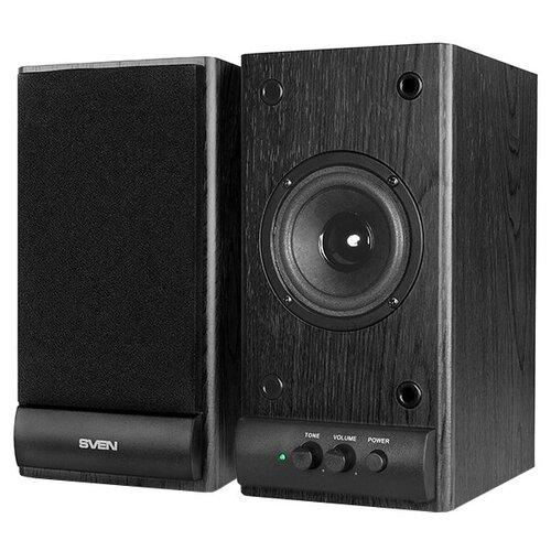 Компьютерная акустика SVEN SPS-609 черный портативная акустика sven ps 68 черный
