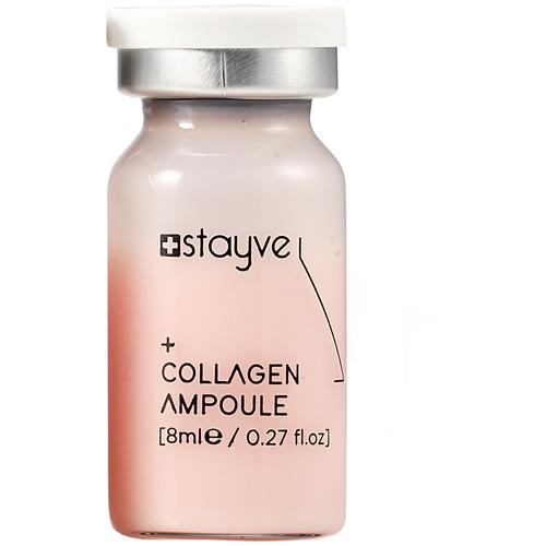 Stayve Collagen Ampoule Сыворотка Коллаген для лица под мезороллер/дермапен, 1 шт x 8 мл