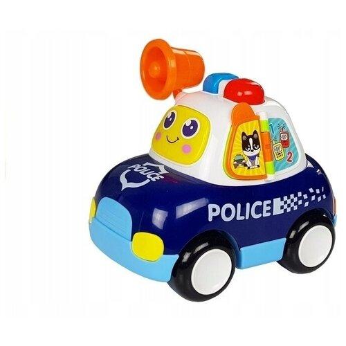 Интерактивная развивающая игрушка Play Smart Машинка Расти Малыш, синий