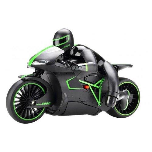 Мотоцикл ZC 333 4CH (333-MT01B) 1:12 24.4 см черный/зеленый