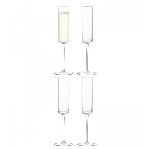 Бокал-флейта для шампанского Otis 4 шт. LSA G1070-05-301 бокал для белого вина pearl 4 шт lsa g1332 12 401
