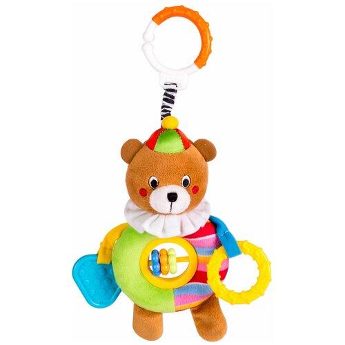 Купить Подвесная игрушка Happy Snail Берни в цирке (17HS019PCB) коричневый/зеленый/желтый, Подвески