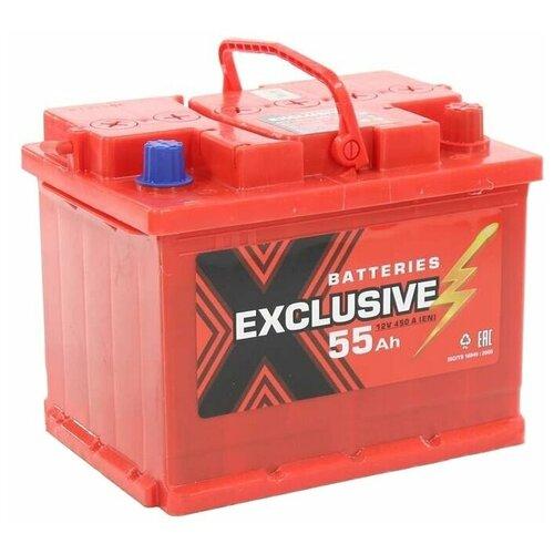Автомобильный аккумулятор Exclusive 6СТ-55 П/П