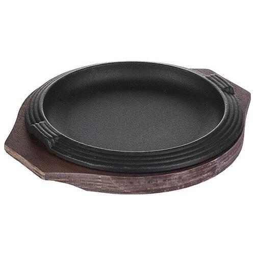 Сковорода для фахитос на подставке D=16 см ILSA сковорода d 24 см kukmara кофейный мрамор смки240а