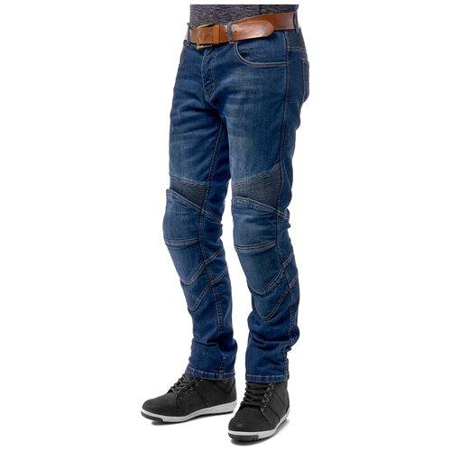Текстильные мотобрюки Moteq Artec синий 40-36 (Размер производителя)