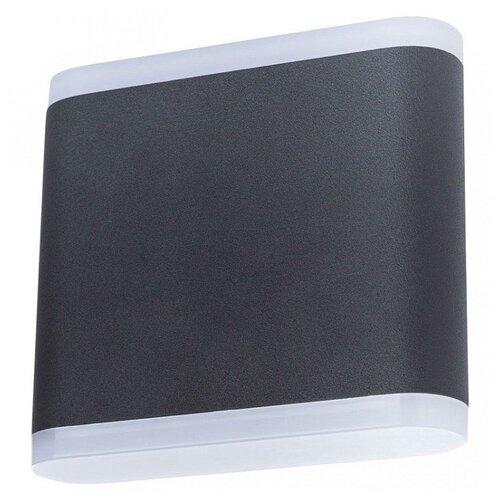 Фото - Накладной светильник Arte Lamp Lingotto A8153AL-2BK уличный светильник arte lamp lingotto a8153al 2gy