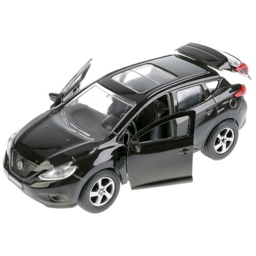 Легковой автомобиль ТЕХНОПАРК Nissan Murano (SB-17-75-NM-N-WB), 12 см, черный