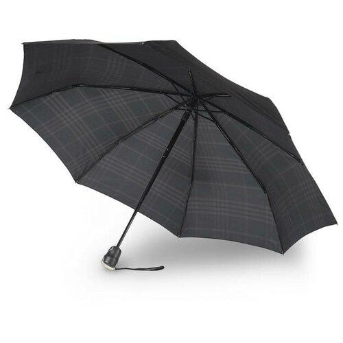 Зонт автомат Bugatti Gran Turismo CHECK BLACK