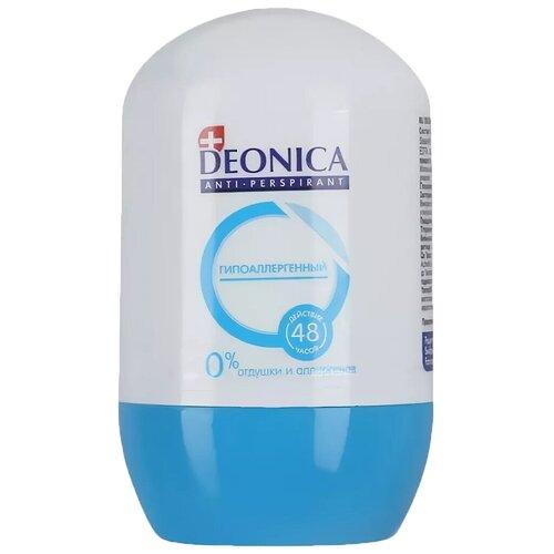 Deonica антиперспирант, ролик, Гипоаллергенный, 45 мл
