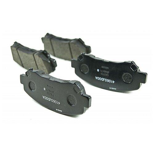 Дисковые тормозные колодки передние Nissan D1060 JD00A для Nissan Qashqai, Nissan X-Trail (4 шт.)