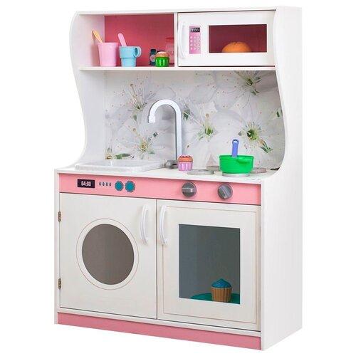 Кухня PAREMO Фиори Бьянка Мини PK218-08 бело-розовый