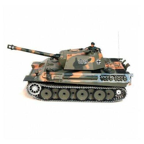 Фото - Радиоуправляемый танк Heng Long German Panther Pro масштаб 1:16 40Mhz радиоуправляемый танк heng long радиоуправляемый мини танковый бой cs toys 9819
