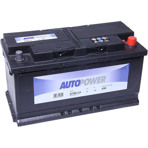 Автомобильный аккумулятор Autopower A100-L5