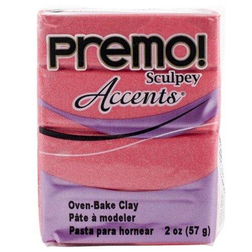 Купить Полимерная глина Sculpey Premo Accents 5115 (жемчужно-малиновый), 57г, Глина