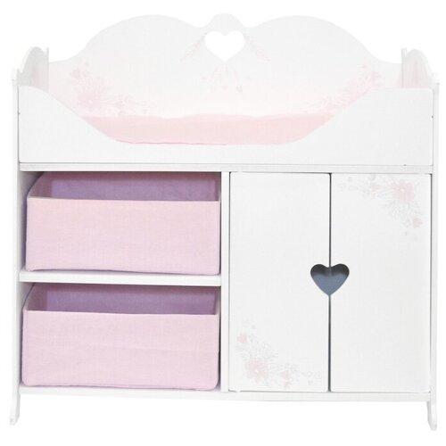 PAREMO Кроватка-шкаф для кукол Розали Мини (PRT320-04M) Бьянка, Мебель для кукол  - купить со скидкой