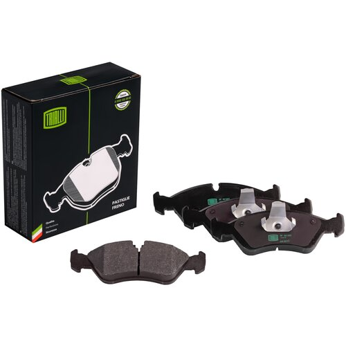 Дисковые тормозные колодки передние TRIALLI PF051202 для Daewoo, Chevrolet, Opel, ЗАЗ (4 шт.)