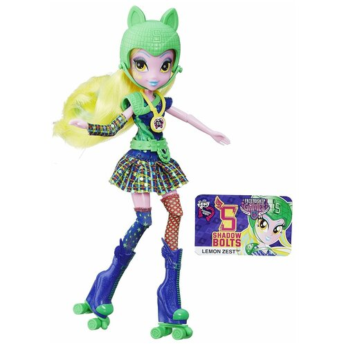 Кукла My Little Pony Equestria Girls Игры дружбы Лемон Зест, 22 см, B5682