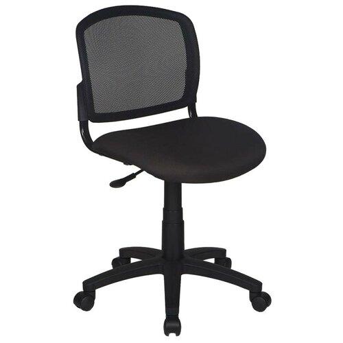 Компьютерное кресло Бюрократ CH-296NX офисное, обивка: текстиль, цвет: черный/черный недорого