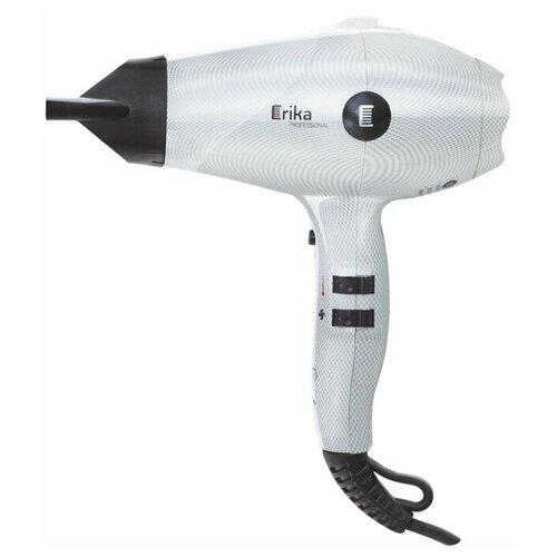 Фен Erika HDR-002, белый фен erika hdr019b черный