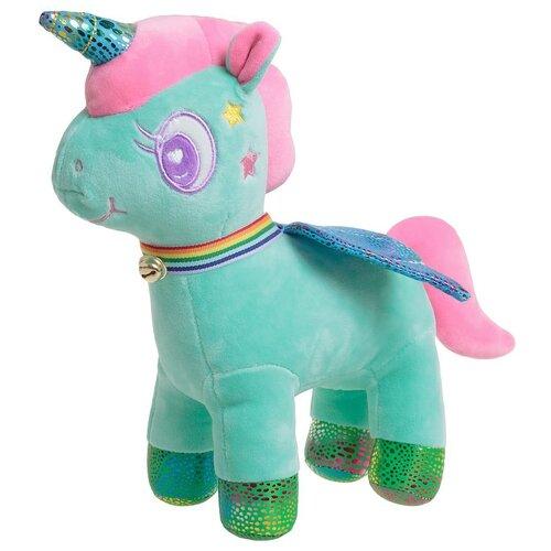 Мягкая игрушка Тomato Единорог зеленый 28 см