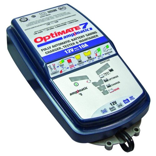 Зарядное устройство Optimate 7 Ampmatic синий