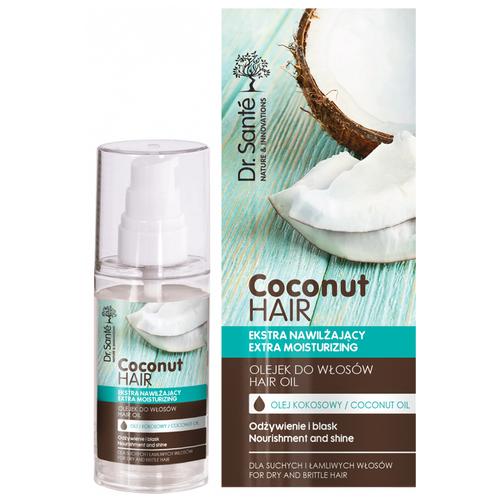 Dr. Sante Coconut Hair Масло для волос Питание и блеск, 50 мл шампунь для волос dr sante coconut hair